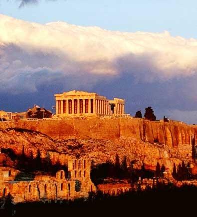El Partenón y la Acrópolis de Atenas
