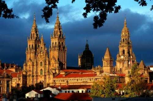 Catedral románica de Santiago de Compostela