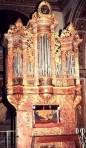 órgano de los jesuítas. Catedral Santiago Chile